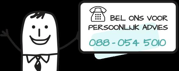 Bel ons voor persoonlijk advies