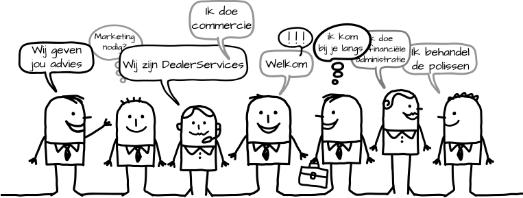 Contact met Dealer Services